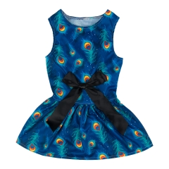 CuteBone Dog Dress Doggie Sundress Pet Clothes Dog's Sweet Dresses Puppy Skirt DR08