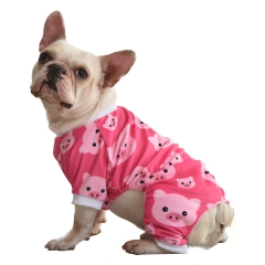 Pink Pig Dog Pajamas